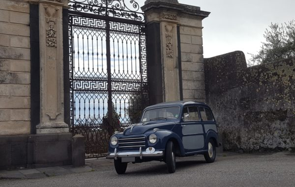 Fiat 500 C Belvedere del 1955