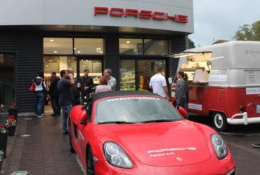 Porsche Club Malta in Centro Assistenza Porsche Palazzo