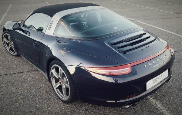 Porsche 991 4S Targa  km 23900 del 2014  Blu notte interni blu.  euro 125.000