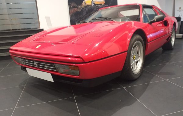 Ferrari 208 GTS Turbo intercooler del 1987 km 22000.
